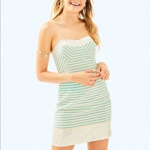 🥳HP🎉NWT Lilly Pulitzer strapless Remi dress
